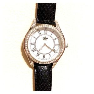 Gently loved Juicy Couture movado group watch